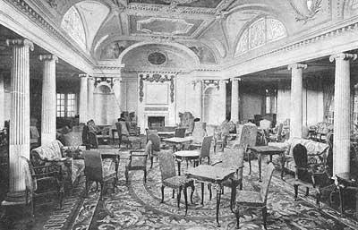 Salones interiores barcos antiguos infocruceros - Salones antiguos ...